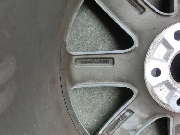 奥迪TT18寸二手铝合金轮毂