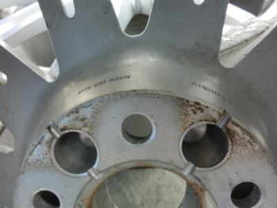奥迪A8L 20寸二手轮毂