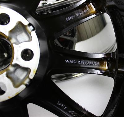 捷豹XJ电镀黑19寸原车轮毂