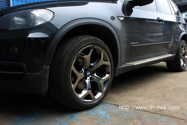 宝马x5轮毂改装升级