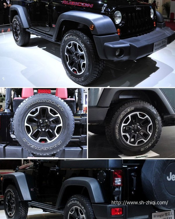 17寸jeep吉普二手原装轮毂
