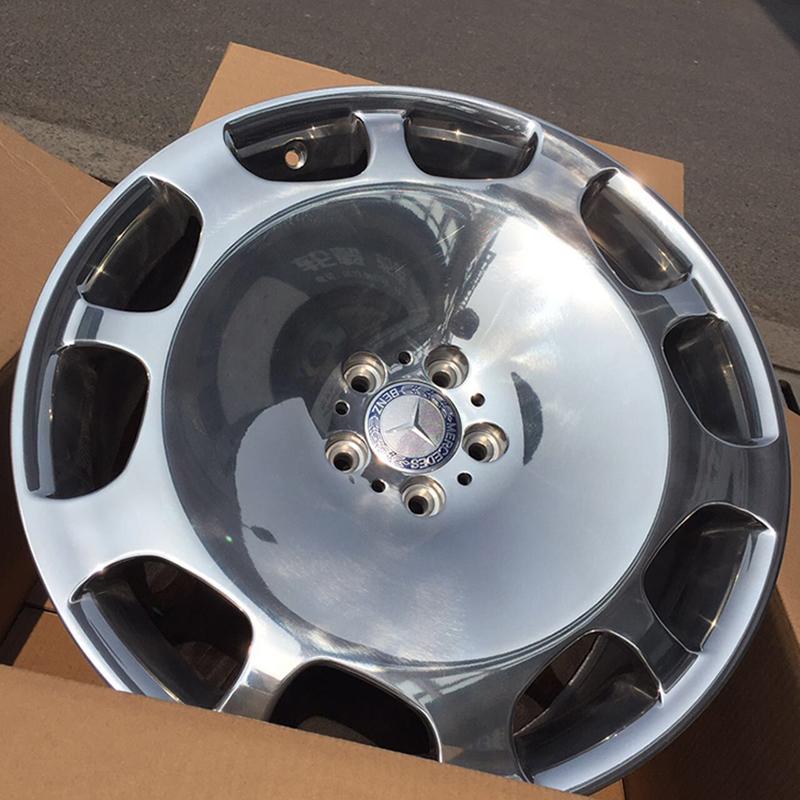 20寸奔驰s600迈巴赫大饼原装原厂款锻造定制轮毂