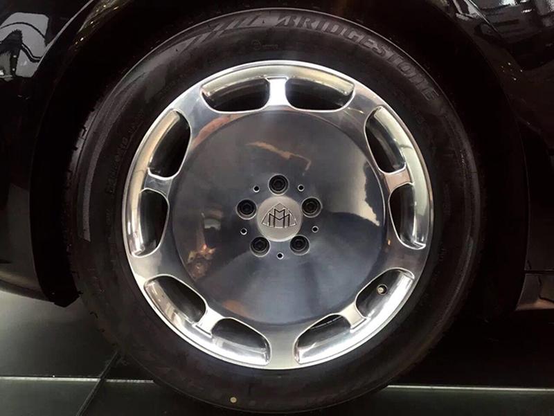 19寸奔驰s600迈巴赫大饼原厂原装款锻造定制