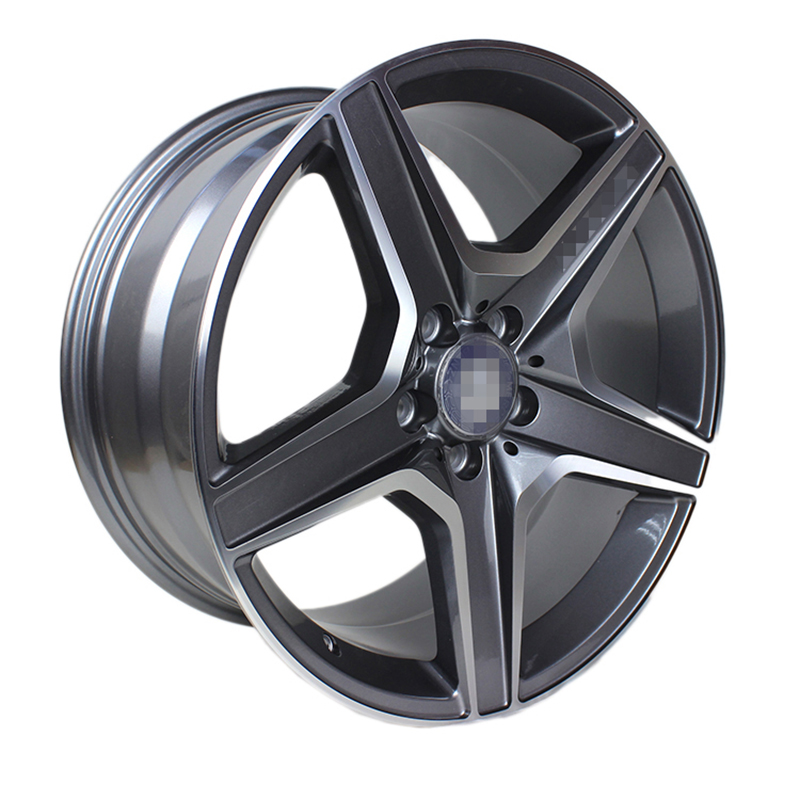 奔驰c63原厂原装款锻造定制轮毂18寸