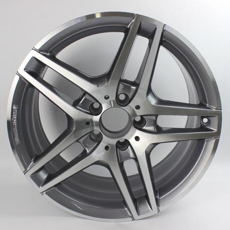 奔驰e260原装18寸拆车轮毂