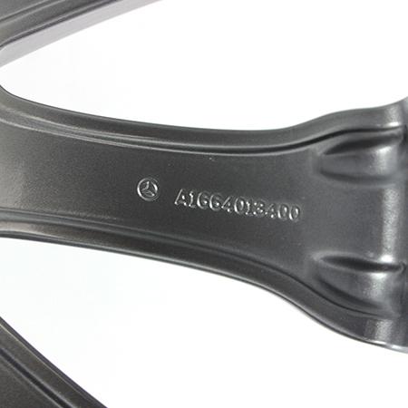 奔驰gls400原装轮毂20寸