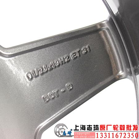 奔驰sl63原装拆车轮毂19寸