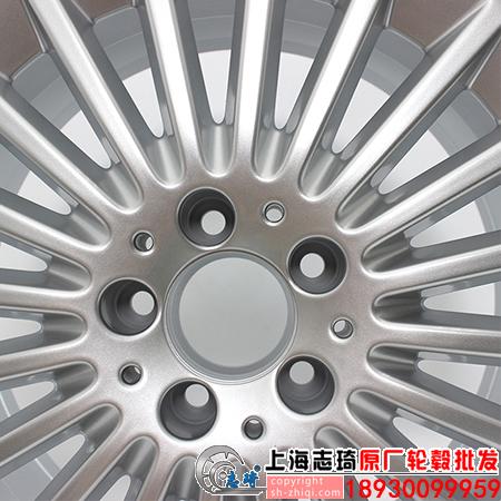 奔驰c180原装拆车轮毂17寸