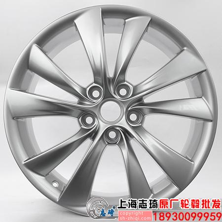 特斯拉原装19寸拆车轮毂二手正品铝合金钢圈