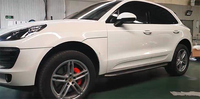 保时捷macan升级改装21寸718款锻造轮毂