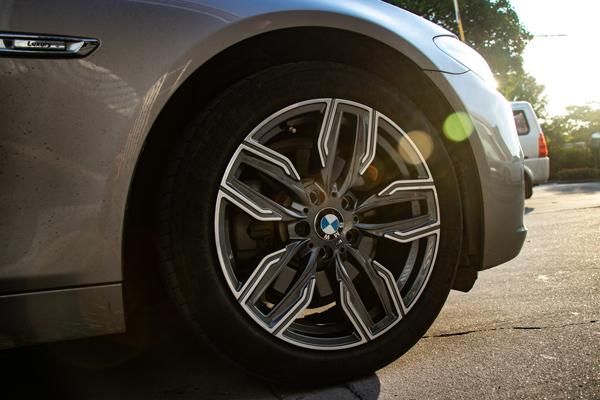 宝马525升级18寸760m款锻造轮毂