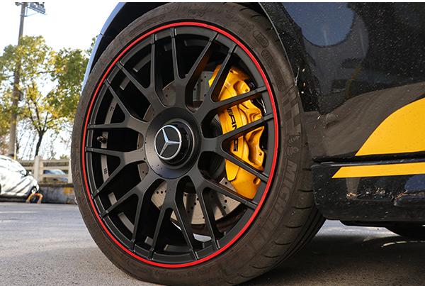 奔驰c63升级改装19寸双色锻造轮毂